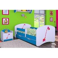 Dětská postel se šuplíkem 140x70cm ŽIRAFKA