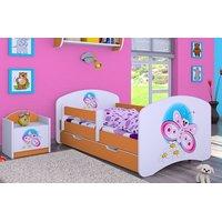 Dětská postel se šuplíkem 140x70cm MOTÝLEK