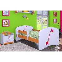 Dětská postel bez šuplíku 140x70cm ŽIRAFKA