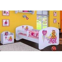 Dětská postel bez šuplíku 140x70cm PEJSEK A SRDÍČKO