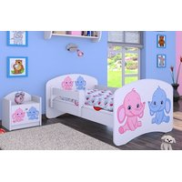 Dětská postel bez šuplíku 140x70cm SLONÍCI