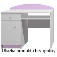 Psací stůl RŮŽOVÁ PRINCEZNA - TYP A