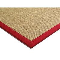 Koberec Asiatic Natural Weaves - SISAL Linen/Red - 160x230cm