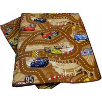 Dětský koberec CARS hnědý