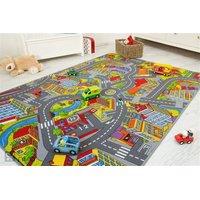 Dětský koberec SMART CITY
