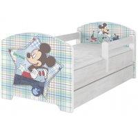 ***SKLADEM*** Dětská postel Disney - MICKEY MOUSE 140x70 cm