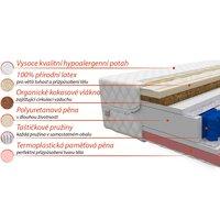 Taštičková matrace PREMIUM ACTIVE 200x160x28 cm - paměťová pěna/kokos/latex