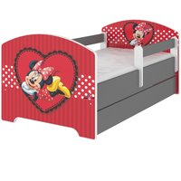 ***SKLADEM*** Dětská postel Disney - zamilovaná MINNIE 160x80 cm