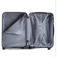 Moderní cestovní kufry PAVO - béžové