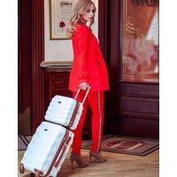Moderní cestovní kufry ARROW - světle béžové