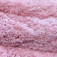 Kulatý koberec STIGE - pudrový