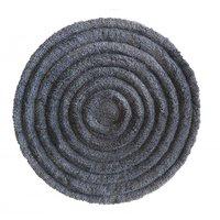 Kulatý koberec STIGE - šedý