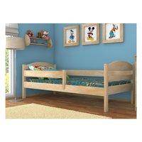 SKLADEM: Dětská postel z MASIVU 200x90cm bez šuplíku - DP017 + matrace ZDARMA