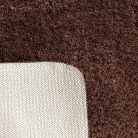 Moderní koberec SHAGGY CAMIL - hnědý