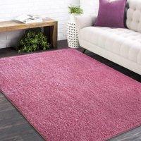 Moderní koberec SHAGGY CAMIL - růžový