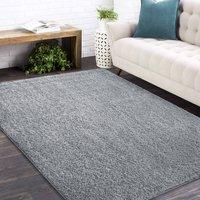 Moderní koberec SHAGGY CAMIL - šedý