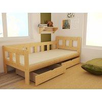 Dětská postel z MASIVU 180x80 cm SE ŠUPLÍKY - DP023/V