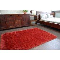 SKLADEM: Kusový koberec SHAGGY MACHO terakotový