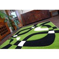 SKLADEM: Moderní koberec ZELENÝ H203-8405 - 240x330 cm
