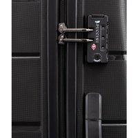 Moderní cestovní kufry BAHAMAS - černé