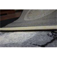 Moderní koberec Francouzský buldoček - černý
