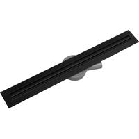 Sprchový žlab MAXMAX Mexen FLAT 360 SLIM - černý