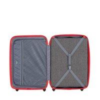 Moderní cestovní kufry MILAN - červené
