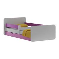 Dětská postel se šuplíkem VIOLET 140x70 cm + matrace