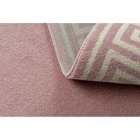 Moderní kusový koberec HARRY greek - růžový/krémový