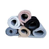 Kusový koberec RABBIT DELUXE - šedý - imitace králičí kožešiny