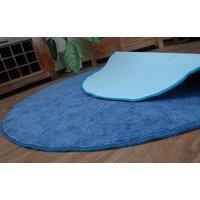 Kulatý koberec SERENADE - zelenýKulatý koberec SERENADE - světle modrýKulatý koberec SERENADE - modrý