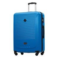 Moderní cestovní kufry CARA -  modré