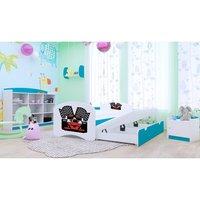 Dětská postel pro DVA (s výsuvným lůžkem) 180x90 cm - FERRARI
