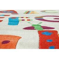 Dětský koberec ABECEDA