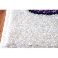 Dětský koberec MOTÝLI - krémový