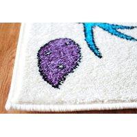 Dětský koberec PTÁČCI - krémový