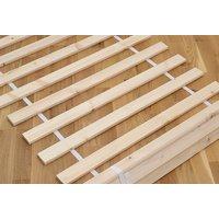 Dětská postel z masivu borovice GANDALF se šuplíky - 200x90 cm - PŘÍRODNÍ BOROVICE