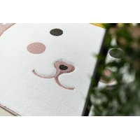 SKLADEM: Dětský kusový koberec PetMe Král králík - růžový - 200x290 cm