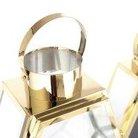 Sada 2 luceren - kov/sklo - zlaté