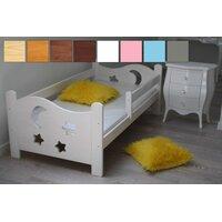 Dětská postel z MASIVU 160x70cm bez šuplíku - DP021