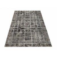 Kusový koberec PANNE cross - odstíny šedé
