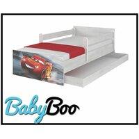 SKLADEM: Dětská postel MAX se šuplíkem Disney - AUTA 3 160x80 cm - 2x krátká bariéra