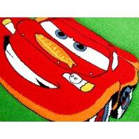 SKLADEM: Dětský koberec CARS green - 140x200 cm