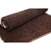 Kusový koberec SHAGGY WIKI – čokoládově hnědý