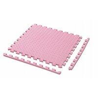 Dětská podložka na hraní PUZZLE MAX - 122x122 cm - sada 4 ks - růžová