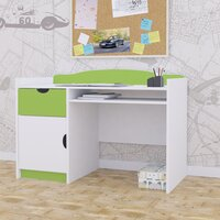 SKLADEM: Dětský psací stůl CLASSIC - TYP 6 - zelený
