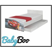 SKLADEM: Dětská postel MAX bez šuplíku Disney - AUTA 3 180x90 cm