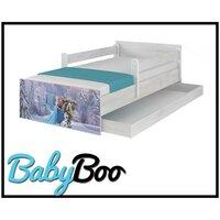 SKLADEM: Dětská postel MAX se šuplíkem Disney - FROZEN II 180x90 cm - 1x dlouhá + 1x krátká zábrana