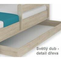 SKLADEM: Dětská postel MAX bez šuplíku Disney - FROZEN 160x80 cm - 2x krátká zábrana