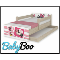 SKLADEM: Dětská postel MAX bez šuplíku Disney - MINNIE II 180x90 cm - bez bariérek